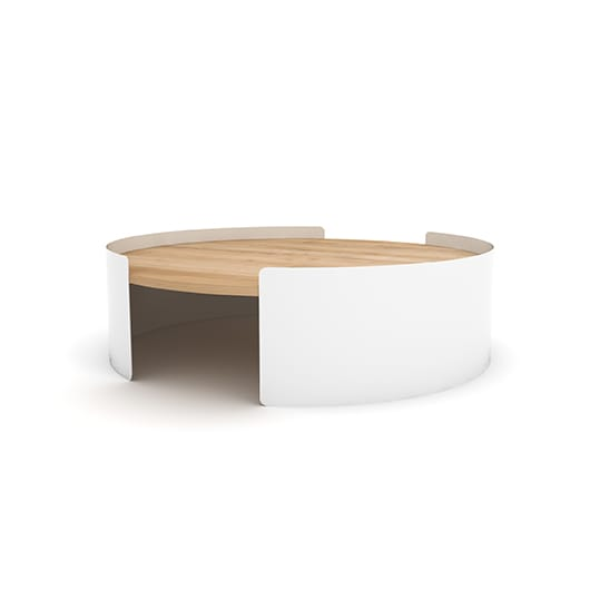 TGU-026061 Moon table L white 100x100x29