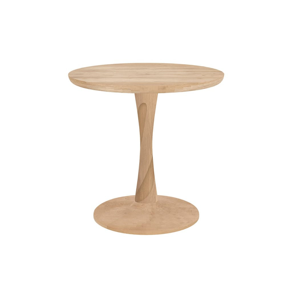 Torsion Side Table - Oak