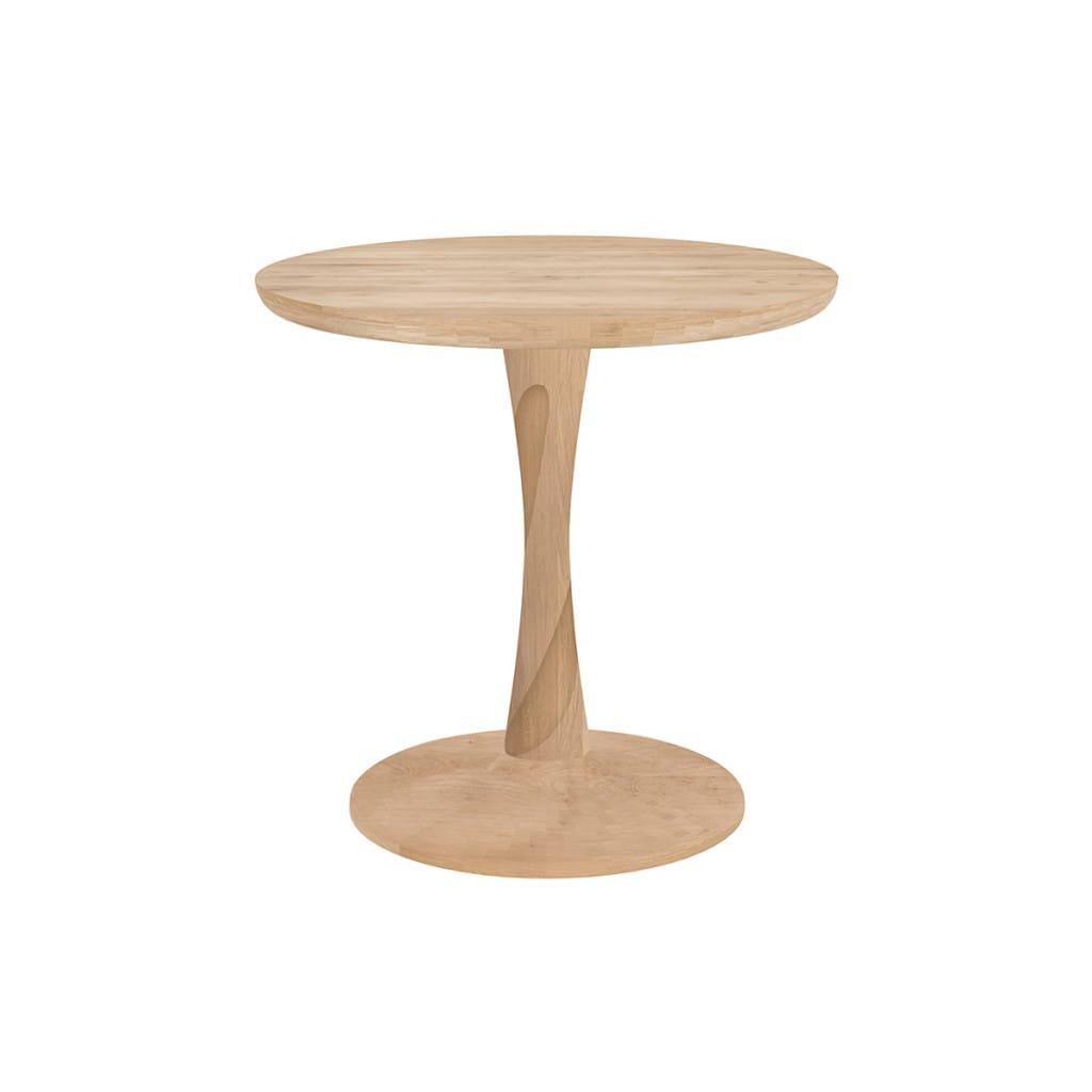 Torsion Side Table - Oak